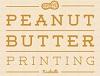 Peanut Butter Printing